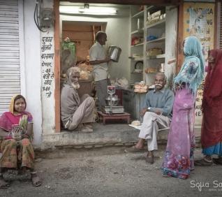 Shop, Delwara, India.