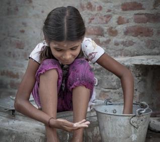 Girl, Narlai, India