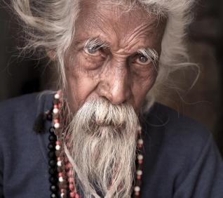 Shiva man, Suresh, Pushkar, India.