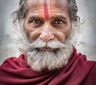 Pushkar man, India.