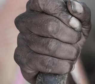 Old Hand, Pushkar, India.