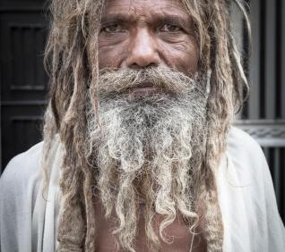 Longs hairs, Pushkar, India.