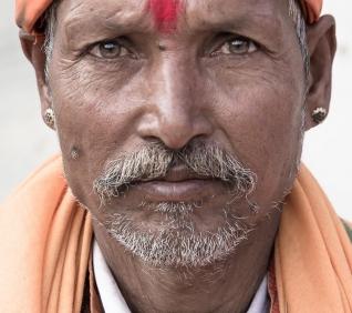 Shiva man, Pushkar, India.
