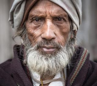 Old men, Pushkar, India.