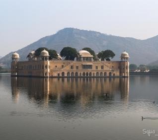 Water Palace, Jaipur, India.