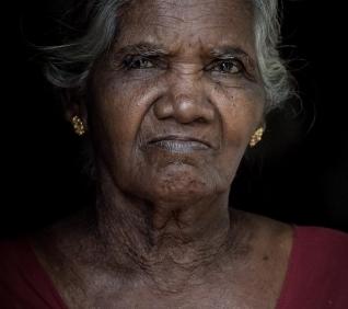 Woman, Kumarakom, India