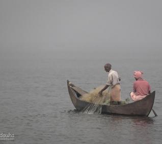 Fishermen, Kumarakom, India