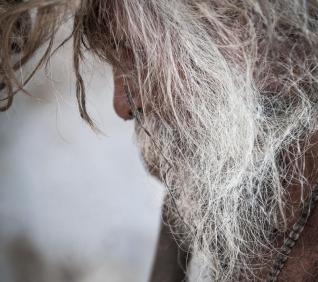 Old man, Pushkar, India.