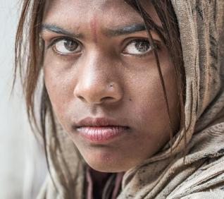 Girl, Pushkar, India